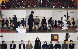 بازدید سرکار خانم رمارم عضو شورای اسلامی مشهد از اردوی جاویدان