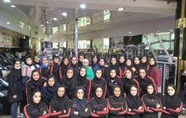اردوی تیم کاراته دختران جاویدان در مشهد