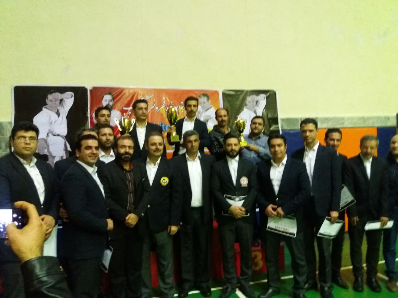 قهرمانی مقتدرانه در دومین دوره مسابقات شیتوکاپ