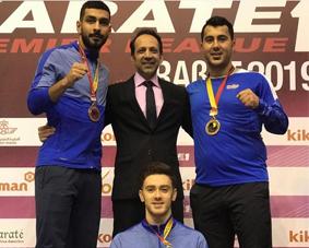 نایب قهرمانی مردان در لیگ کاراته وان مراکش
