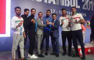 ایران قهرمان دومین دوره لیگ جهانی کاراته-استانبول ۲۰۱۹