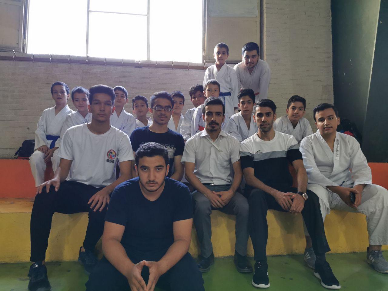 ۱۴ مدال سهم پسران جاویدان در مسابقات کشوری-مشهد