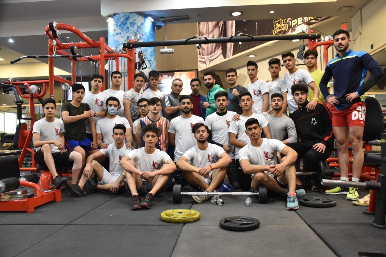 اردوی تیم کاراته پسران جاویدان در مشهد